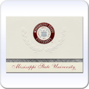 Signature Announcements University-of-The-South Undergraduate Sculpted Foil Seal Graduation Diploma Frame 16 x 16 Matte Mahogany