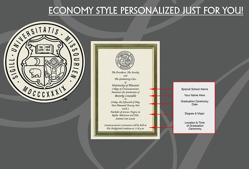 Economy Graduation Announcements