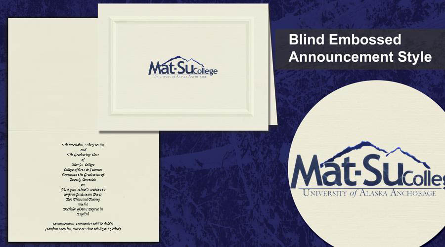 Mat-Su College Graduation Announcements