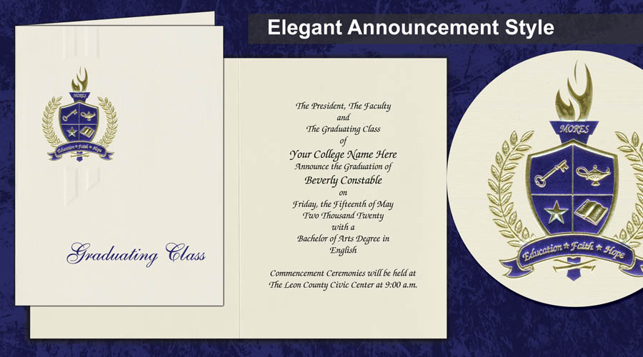 Elegant Announcement Image