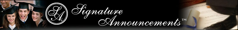 Signature Announcements Home Page